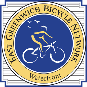 East Greenwich Bicycle Network Sign
